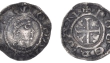 John as Lord of Ireland (First Profile issue) - Moneyer: Roger