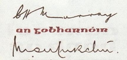 1976-77 B Series £5, Type 2,  signatures T. K. Whitaker & C. H. Murray