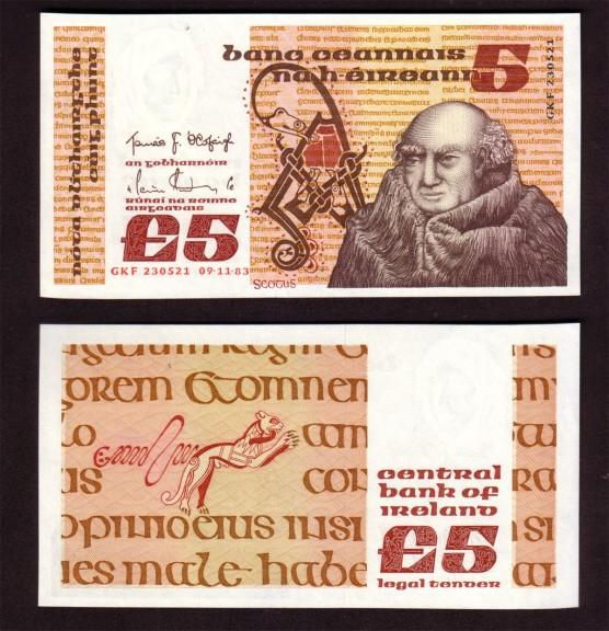 1983 B Series £5 Banknote