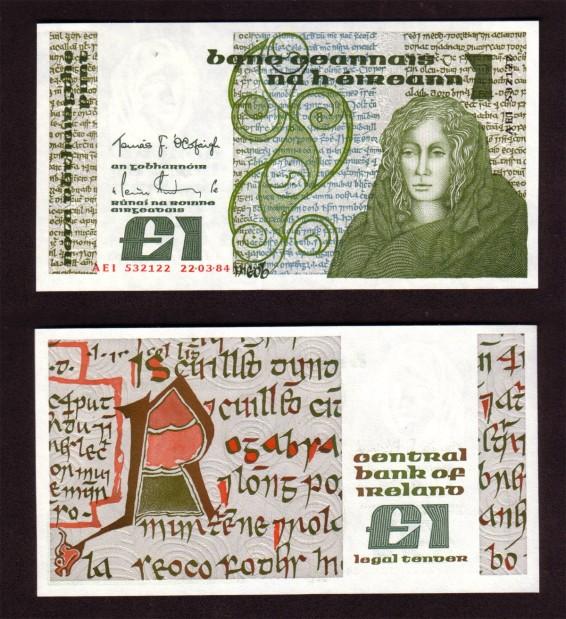 1984 B Series £1 Banknote