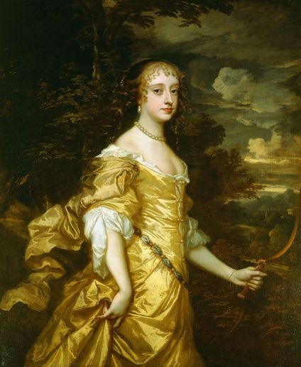 Frances Teresa Stuart, Duchess of Richmond & Lennox  - while a member of the royal court, she caught the eye of Charles II, who fell in love with her. The king's infatuation was so great that when the queen's life was despaired of in 1663, it was reported that he intended to marry Stewart, and four years later he was considering the possibility of obtaining a divorce to enable him to make her his wife because she had refused to become his mistress.