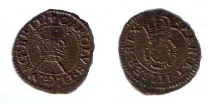 Maltravers Rose Farthing, Type 2