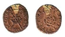 Maltravers Rose Farthing, Type 3