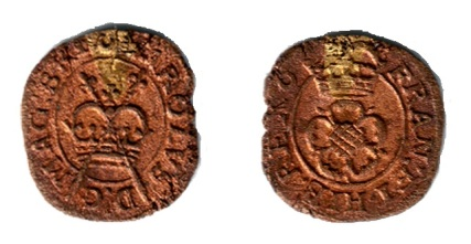 Maltravers Rose Farthing, Type 4a