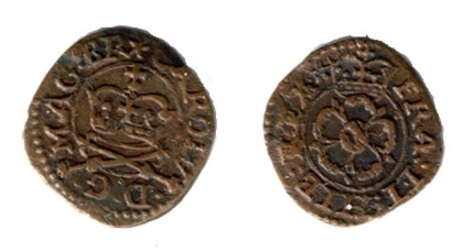 Maltravers Rose Farthing, Type 5a