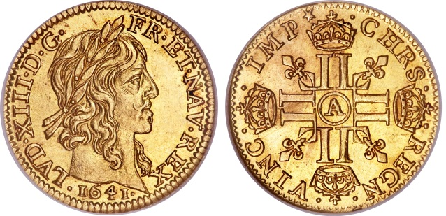 The mechanization of the minting of coins from precious metals in France made possible the creation, in 1640, of the Louis d'or, named after King Louis XIII (reigned, 1610–43), who first introduced the coins. This series of gold pieces was part of a reform that changed the minting method from hammered coinage to a more precisely milled and weighed coinage.