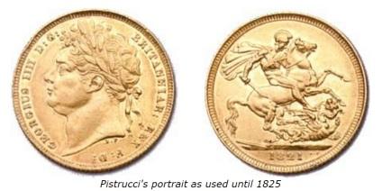1820 George IV (Pistrucci portrait)