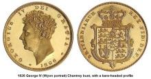 1826 George IV (Wyon portrait)