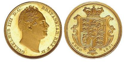 1831 William IV (Wyon portrait)