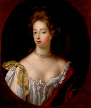 Nell Gwynn - a young East Ender from Coal Pan Alley, who sold oranges to the crowds at Drury Lane