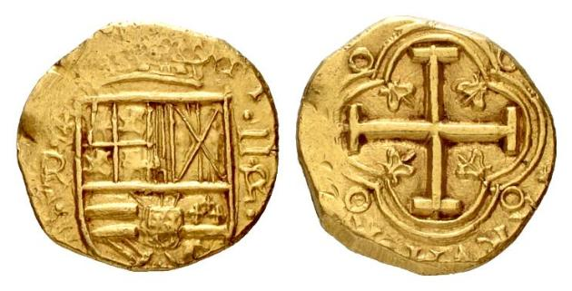 Pistole is the French name given to a Spanish gold coin in use in 1537; it was a double escudo, the gold unit. The name was also given to the Louis d'Or of Louis XIII of France, and to other European gold coins of about the value of the Spanish coin.