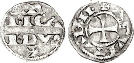ANGLO-GALLIC. Richard I, the Lionhearted as Duke of Aquitaine, 1172-1189. Denier. Bordeaux mint