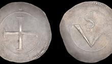 Charles I (1625-1649), Confederate Catholics, 'Rebel Money', Crown, mm. pellet
