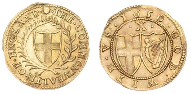 Commonwealth, Double-Crown, 1650