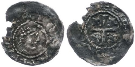 John as Lord of Ireland (First Profile issue) Elis moneyer, Dublin