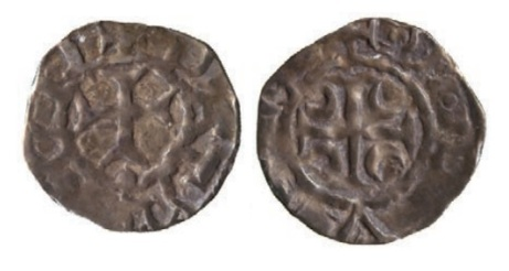 John De Courcy, Lord of Ulster (1177-1205), Farthing, anonymous issue, Downpatrick Mint