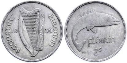 Saorstat Eireann florin, 1930