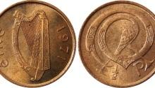 1971 Ireland decimal halfpenny