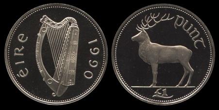 1990 Ireland £1