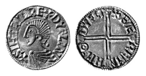 Hiberno-Norse, Phase I, Class B Penny, Long Cross in the name of Sihtric