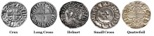 There are five main classes of coins in the Hiberno-Norse, Phase I series
