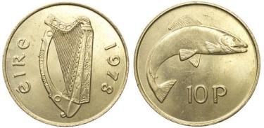Ireland 1978 Tenpence / 10p