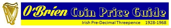 O'Brien Coin Price Guide - Pre-Decimal Threepence