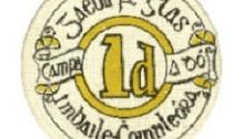 Ballykinlar Internment Camp - one penny token