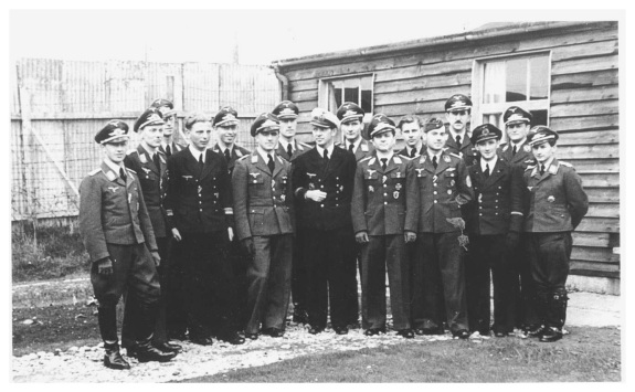 German Kriegsmarine and Luftwaffe Officers in the Curragh Internment Camp