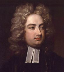 Jonathan Swift, by Charles Jervas