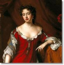 Queen Anne, at the time of her marriage - Scottish National Portrait Gallery