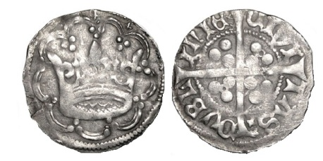 Edward IV Groat, Anonymous Crown Coinage, (c 1460-1463), Dublin mint