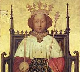 Richard II, King of England and Lord of Ireland