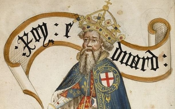 A mediaeval miniature of Edward III of England