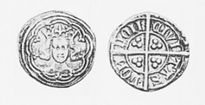 O'Reilly Money - Edward III, post-Treaty issue, London mint, ex Grainger coll., wt. 18.8 grains