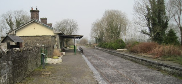 "Ballyglunin railway station was used in the John Wayne film ""The Quiet Man"" in 1950 for which it was named ""Castletown"" and the name board on the platform still carries the fictional name from the film."