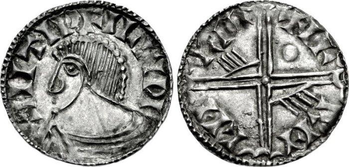 Hiberno-Norse. temp. Echmarcach mac Ragnaill – Murchad mac Diarmata. Mid 11th century. AR Penny Phase III coinage