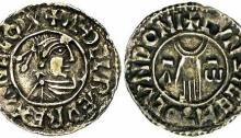 Aethelred II, Type 2 - First Hand type penny, Moneyer, Cynsige of London