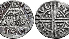 Ireland, Henry III silver penny (18mm, 1.37 g, 3h). Class Ia. Dublin mint, moneyer: Ricard, struck c. 1251-1254