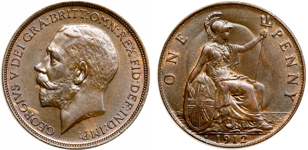Gb Amp Ireland Pennies Struck By The Heaton Mint The Old