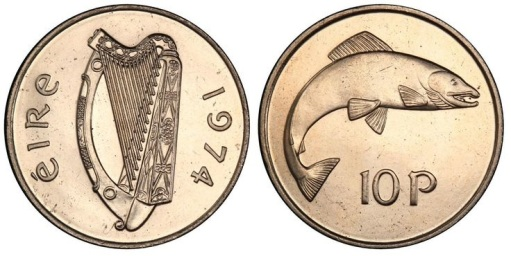 1974 Cupro-Nickel 10p, ex-King's Norton Collection