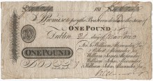 1820 £1 Alexanders Bank, Dublin (21 March 1820) no 4674