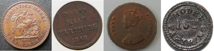 Examples of Model Fractional Farthings