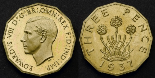 1937 GB & Ireland Threepence (Edward VIII), with Type 1 reverse (date below).jpg