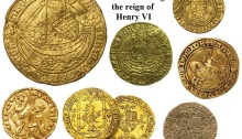 Gold coins circulating in Ireland during the reign of Henry VI, c. 1460 (when he fixed exchange rates)