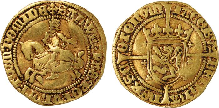 Gold Rider - James III of Scotland (1460 to 1488)
