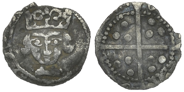 Edward IV (1461-83), Penny, light cross and pellets coinage (1478), Trim Mint. (The Old Currency Exchange, Dublin)