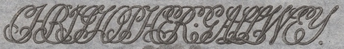 c. 1804 Christopher Gallwey engraving on a One Guinea banknote (tradesman Issue), Killarney, Co Kerry, Ireland
