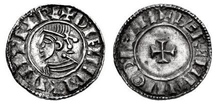 Hiberno-Norse. Sihtric III Olafsson. Circa 995-1036. AR Penny (19mm, 1.24 g, 9h). Phase I coinage, Short Cross type. Dublin mint; 'Wæremin' moneyer. Struck circa 1010-1016. + SITRIC RE+ DУFLIIM, diademed and draped bust left / + PÆREMIN MΘ DУFLIM, short cross pattée. O'S 24 var. (moneyer); SCBI 8 (BM), 48 var. (same); SCBI 32 (Ulster), –; SCBC 6117. Good VF, small peck mark. Very rare.