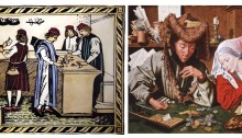 Medieval banking had to overcome the dangers of the Usury Laws and the Italians did so by organising themselves into merchant banking societies, rather than acting as individual traders.